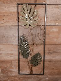 Wandornament Monstera