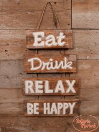 Eat Drink Relax Be Happy