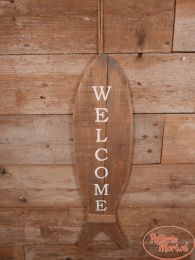 Wandbord Welcome L