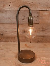 Led lamp Killian grijs koper